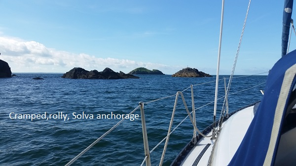 Solva anchorage
